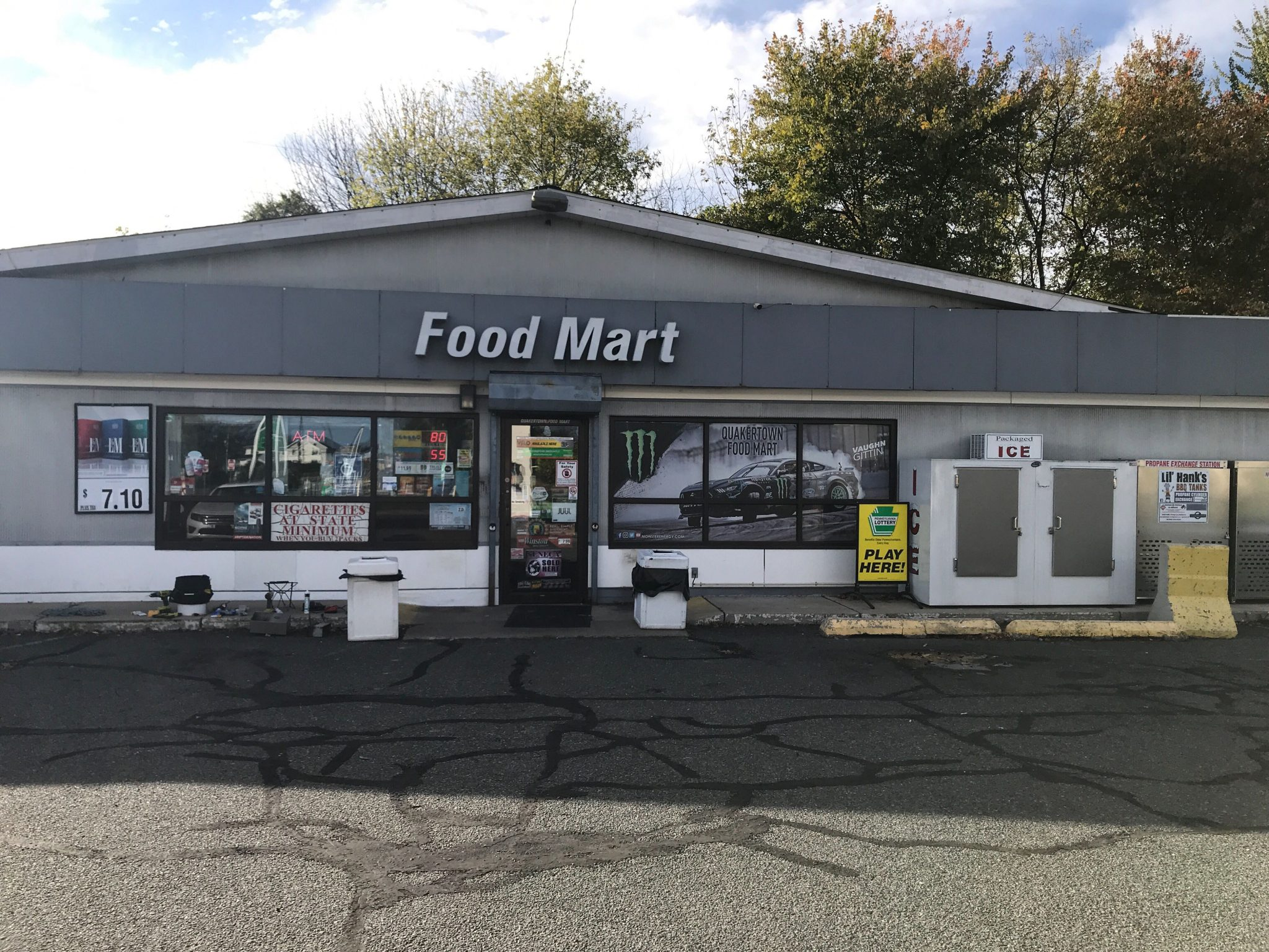 Bitcoin ATM Quakertown Foodmart ChainByes operated by Hippo Kiosk