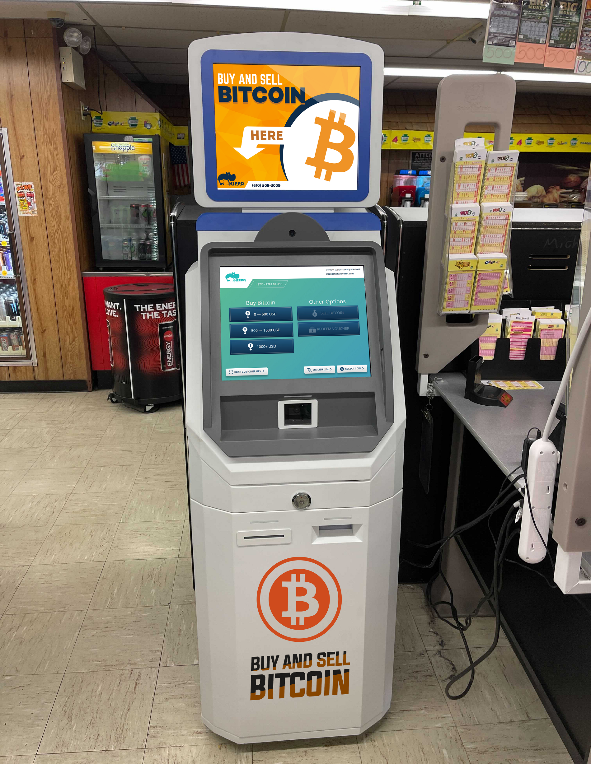 Bitcoin ATM Whitehall PA by Hippo ATM buy bitcoin